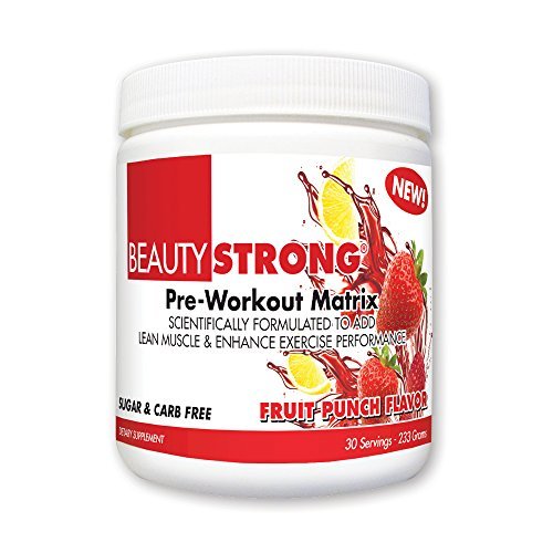 BeautyFit BeautyStrong Pre Workout Matrix Servings