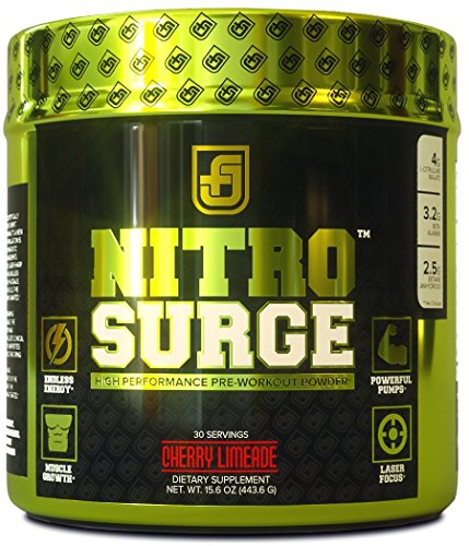 Jacked Factory NITROSURGE Booster Preworkout