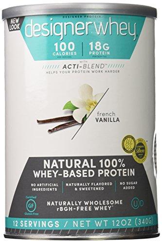 Designer Protein Premium Vanilla 12 Ounce