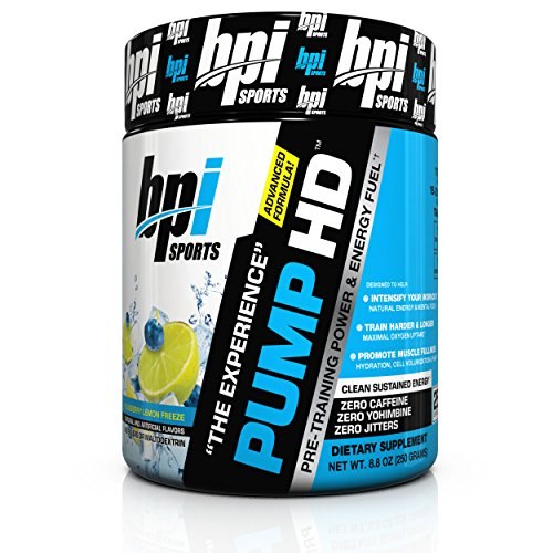 BPI Sports Pre Training Energy Blueberry