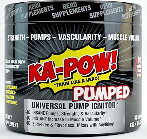 Universal VOLUMIZER Stimulant Free Flavorless Preworkout
