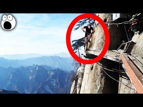 The Most DANGEROUS places for EXTREME SPORTS