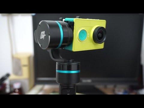 Xiaomi Yi HD Action Sports camera on GoPro 4 Handheld Gimbal
