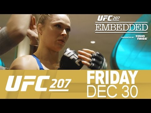 UFC 207 Embedded: Vlog Series – Episode 2