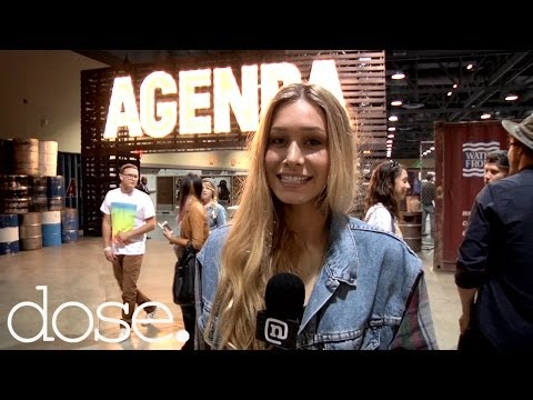 Cait Barker 2014 Agenda Show & Top Action Sports Lifestyle Brands & Trends
