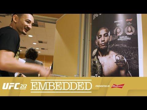 UFC 212 Embedded: Vlog Series – Episode 3