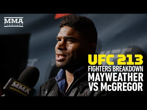 UFC 213 Fighters Discuss Floyd Mayweather vs. Conor McGregor – MMA Fighting