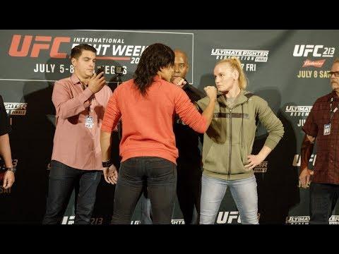 UFC 213: LA Media Day Faceoffs