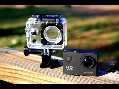 Review: Lightdow LD4000 Action Sports cam. Compared to the SJ4000 and XE5000