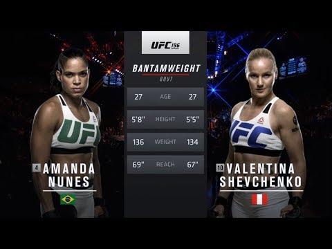 UFC 215 Free Fight: Amanda Nunes vs Valentina Shevchenko 1