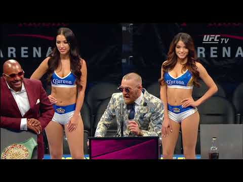 Mayweather vs McGregor: Conor McGregor Post-fight Press Conference