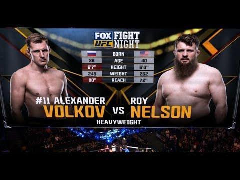Fight Night Rotterdam Free Fight: Alexander Volkov vs Roy Nelson