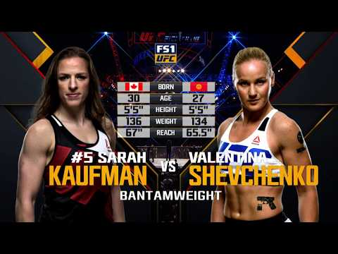 UFC 215 Free Fight: Valentina Shevchenko vs Sarah Kaufman