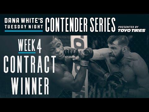 FREE FIGHT   Marquez Lands Devastating Head Kick   DWTNCS Week 4 Contract Winner
