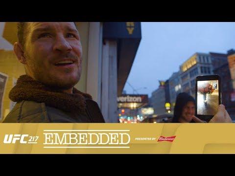 UFC 217 Embedded: Vlog Series – Episode 2