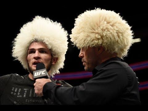 UFC 219: Entrevista no octógono com Khabib Nurmagomedov