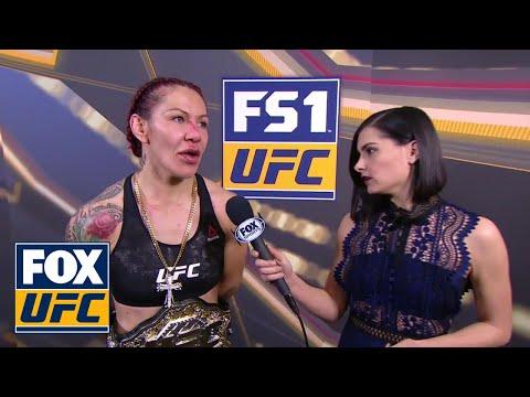 Cris Cyborg Talks with Megan Olivi | INTERVIEW | UFC 219