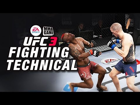 New UFC 3 Technical Fighting Strategies! (Not Possible in UFC 2)
