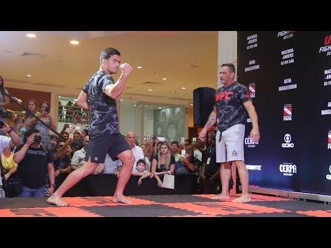 Lyoto Machida Shows Off Karate Skills at UFC Belem Workouts  – MMA Fighting
