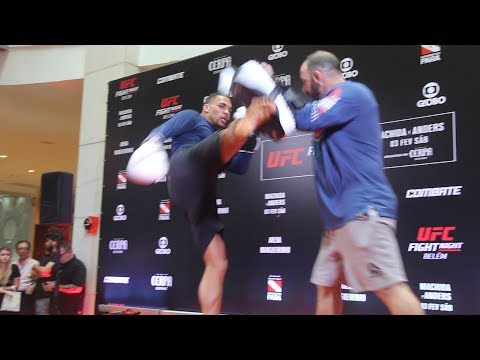 Eryk Anders UFC Belem Open Workout (Complete) – MMA Fighting