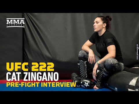 Cat Zingano Still '100 Percent' Believes She's Best Women's Bantamweight in the World – MMA Fighting