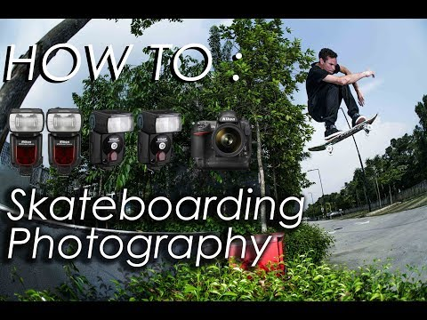 How To : Skateboarding Photography | Vlog 04 | Action Sports Photographer