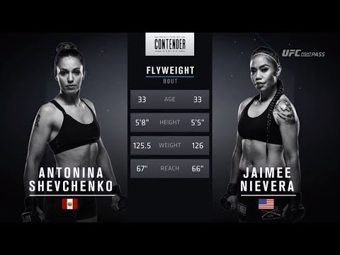 FREE FIGHT | Shevchenko Joins Sister in UFC | DWTNCS Week 3 Contract Winner – Season 2