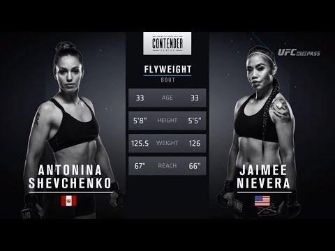 FREE FIGHT | Shevchenko Joins Sister in UFC | DWTNCS Week 3 Contract Winner – Season 2