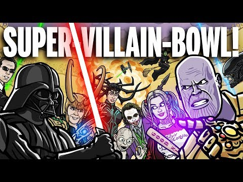 SUPER-VILLAIN-BOWL! – TOON SANDWICH
