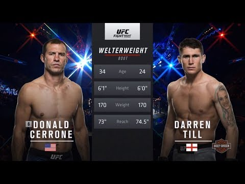 UFC 228 Free Fight: Darren Till vs Donald Cerrone
