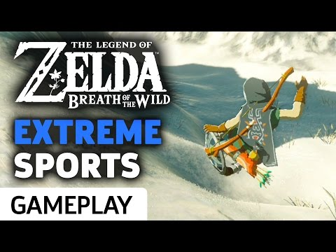 Extreme Sports Zelda: Breath Of The Wild Style