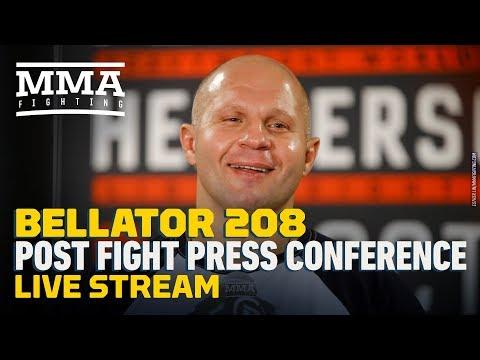 Bellator 208 Post-Fight Press Conference Live Stream – MMA Fighting