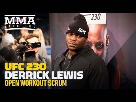 UFC 230: Derrick Lewis Explains Actual Reason He Removed Shorts At UFC 229 – MMA Fighting