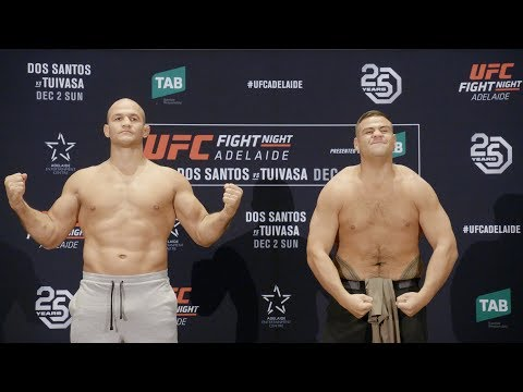 Fight Night Adelaide: Weigh-in Faceoffs