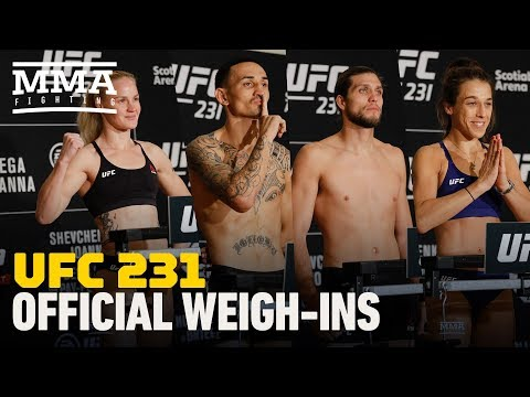 UFC 231 Weigh-In Highlights – MMA Fighting