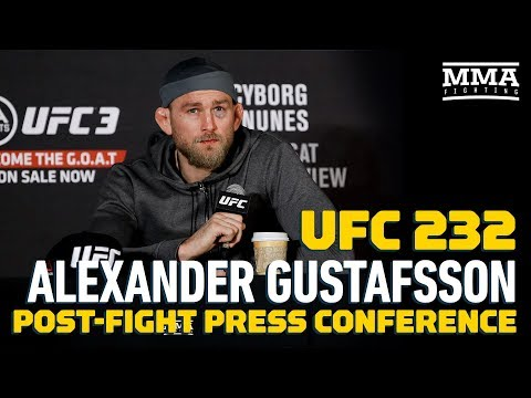 UFC 232: Alexander Gustafsson Post-Fight Press Conference – MMA Fighting