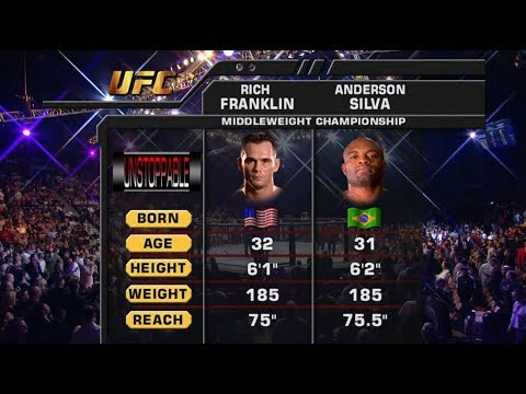 UFC 234 Free Fight: Anderson Silva vs Rich Franklin 1