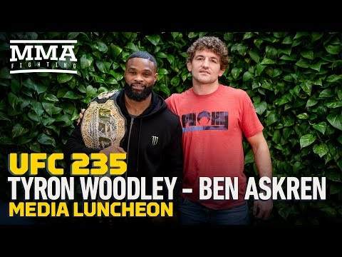 UFC 235: Tyron Woodley, Ben Askren Media Lunch – MMA Fighting