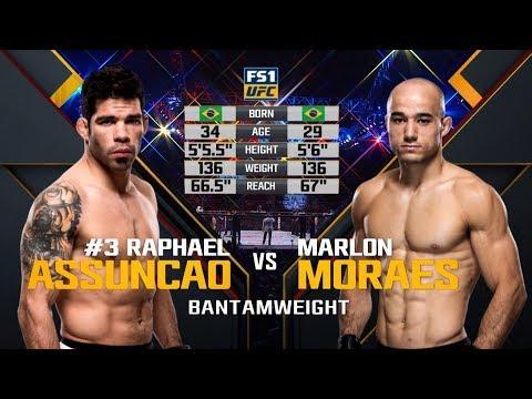 UFC Fortaleza Free Fight: Raphael Assuncao vs Marlon Moraes 1