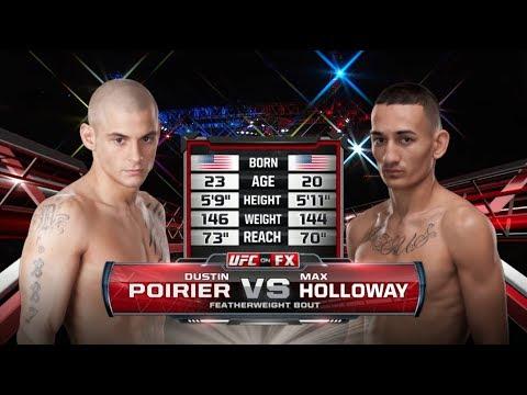 UFC 236 Free Fight: Dustin Poirier vs Max Holloway 1