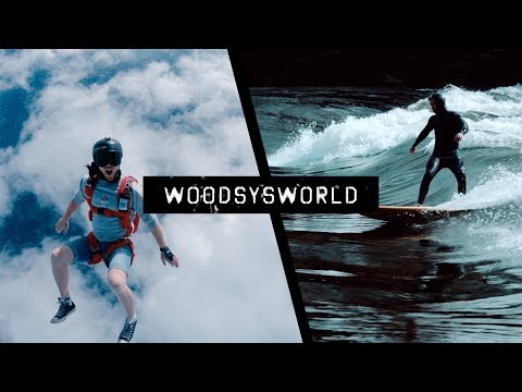 EXTREME SPORTS CAPITAL OF NORWAY! | Woodsy'sWorld #31