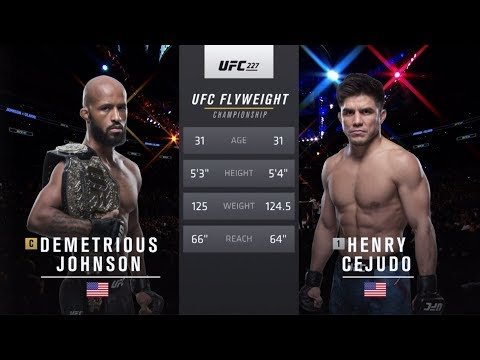 UFC 238 Free Fight: Henry Cejudo vs Demetrious Johnson 2