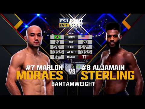 UFC 238 Free Fight: Marlon Moraes vs Aljamain Sterling