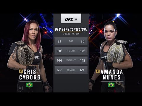UFC 239 Free Fight: Amanda Nunes vs Cris Cyborg