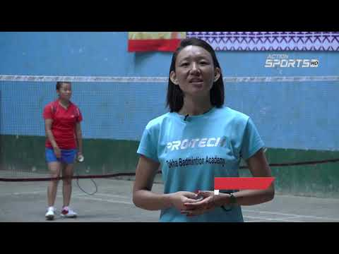 """ Kathmandu Badminton Championship 2019 ""    Sita Rai    Action Sports"