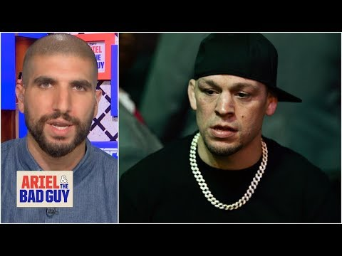 Is Nate Diaz biting off more than he can chew fighting Anthony Pettis? | Ariel and the Bad Guy