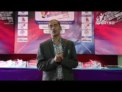 """ Kathmandu Badminton Championship 2019 ""   Hari Krishna Shrestha    Action Sports"