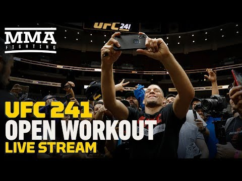 UFC 241 Open Workout – MMA Fighting