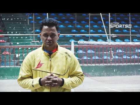 """ Kathmandu Badminton Championship 2019 ""    Sudip Yonjan     Action Sports"