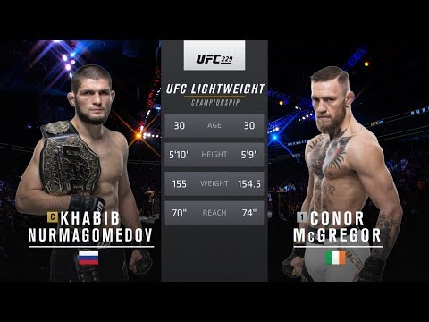 UFC 242 Free Fight: Khabib Nurmagomedov vs Conor McGregor